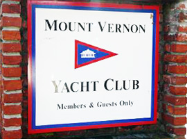 Clubhouse Entrance Sign