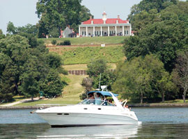 Yachting at Mt. Vernon