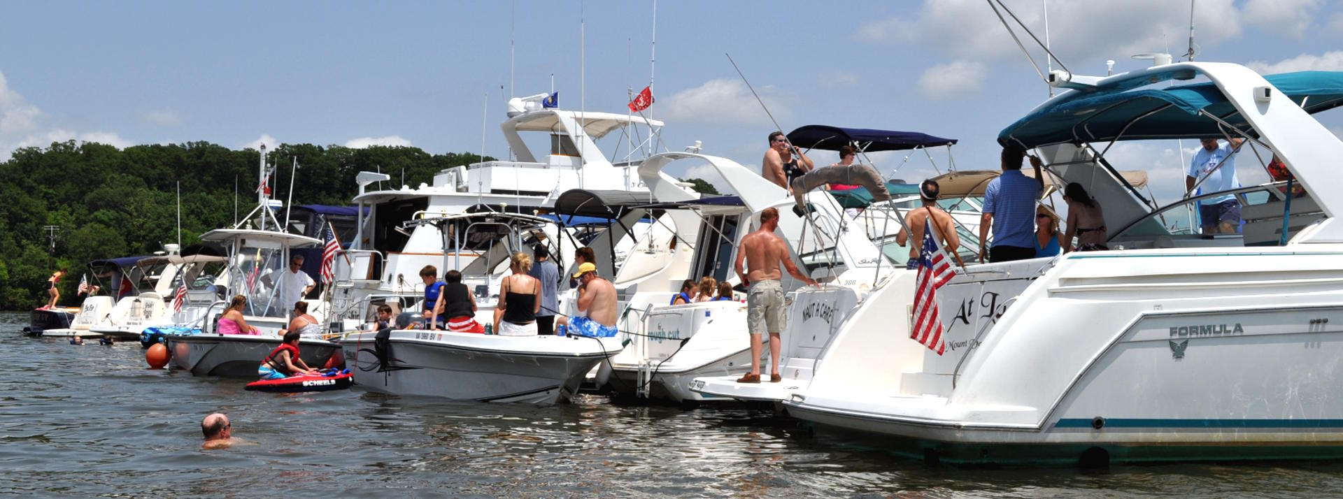 Summer at Pohick Bay